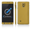 Samsung Galaxy Note 4 Skins - Brushed Metals - iCarbons - 3