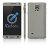 Samsung Galaxy Note 4 Skins - Brushed Metals - iCarbons - 4