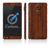 Samsung Galaxy Note 4 Skins - Wood Grain - iCarbons - 2
