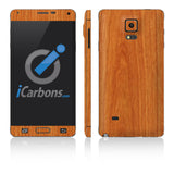 Samsung Galaxy Note 4 Skins - Wood Grain - iCarbons - 3