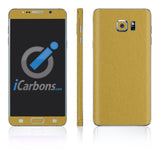 Samsung Galaxy Note 5 Skins - Brushed Metal - iCarbons - 4