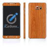 Samsung Galaxy Note 5 Skins - Wood Grain - iCarbons - 3