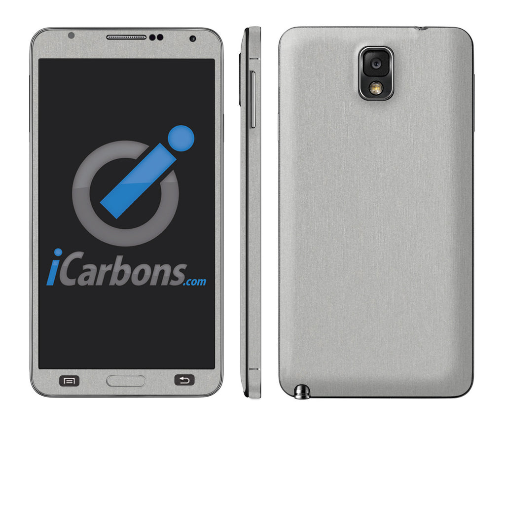 Samsung Galaxy Note 3 - Brushed Aluminum - iCarbons - 1