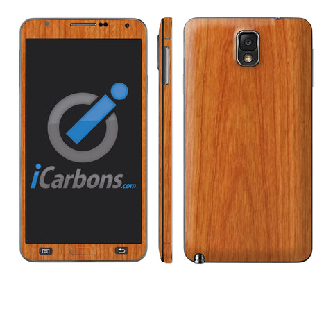 Samsung Galaxy Note 3 - Light Wood - iCarbons - 1