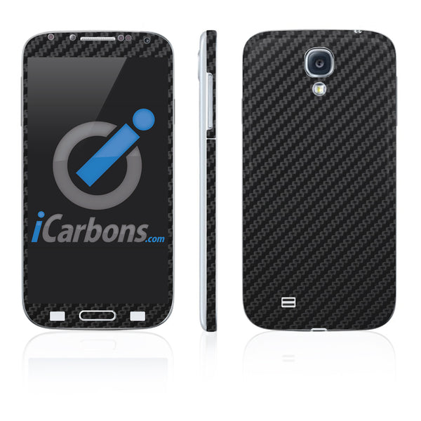 Samsung Galaxy S4 Skins - Carbon Fiber - iCarbons - 2