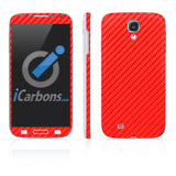 Samsung Galaxy S4 Skins - Carbon Fiber - iCarbons - 3