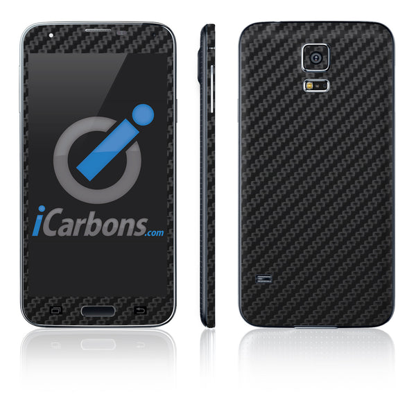 Samsung Galaxy S5 Skins - Carbon Fiber - iCarbons - 2