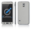 Samsung Galaxy S5 Skins - Brushed Metal - iCarbons - 2