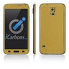 Samsung Galaxy S5 Skins - Brushed Metal - iCarbons - 3