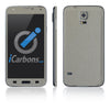 Samsung Galaxy S5 Skins - Brushed Metal - iCarbons - 4