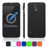 Samsung Galaxy S5 Skins - Carbon Fiber - iCarbons - 1