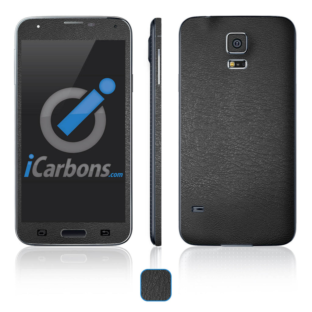 Samsung Galaxy S5 Skins - Leather - iCarbons - 1