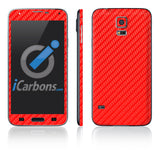 Samsung Galaxy S5 Skins - Carbon Fiber - iCarbons - 8