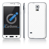Samsung Galaxy S5 Skins - Carbon Fiber - iCarbons - 9
