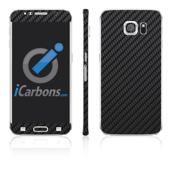 Samsung Galaxy S6 Skins - Carbon Fiber - iCarbons - 2