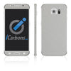 Samsung Galaxy S6 Skins - Brushed Metal - iCarbons - 2