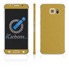 Samsung Galaxy S6 Skins - Brushed Metal - iCarbons - 3