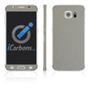 Samsung Galaxy S6 Skins - Brushed Metal - iCarbons - 4