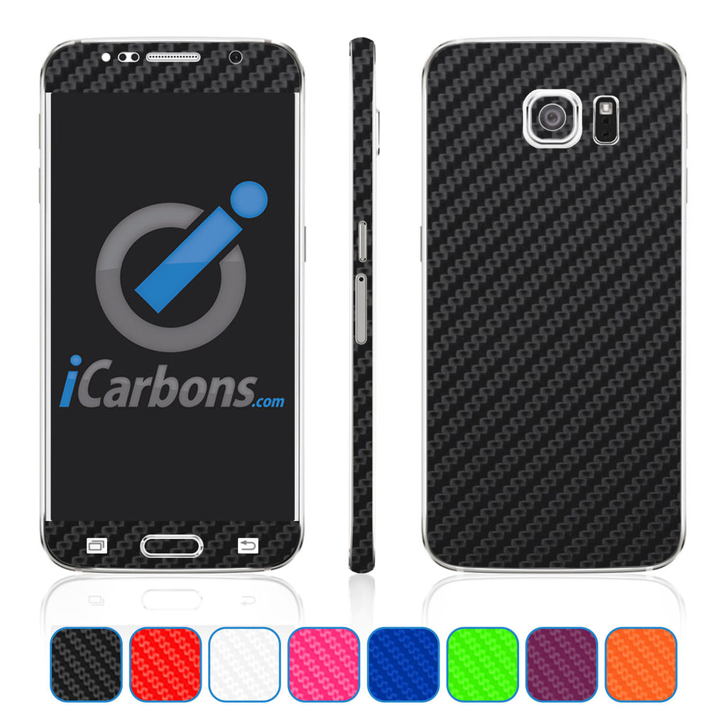 Samsung Galaxy S6 Skins - Carbon Fiber - iCarbons - 1