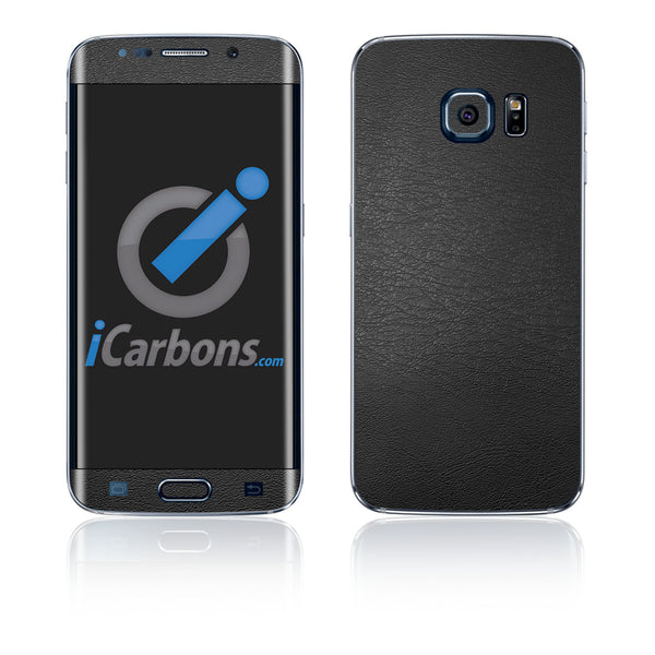 Samsung Galaxy S6 Edge Skins - Leather - iCarbons - 2