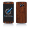 Samsung Galaxy S6 Edge Skins - Wood Grain - iCarbons - 2