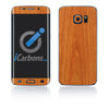 Samsung Galaxy S6 Edge Skins - Wood Grain - iCarbons - 3