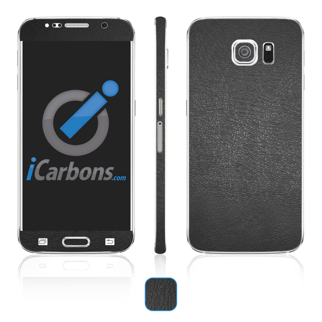 Samsung Galaxy S6 Skins - Leather - iCarbons - 1