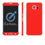Samsung Galaxy S6 Skins - Carbon Fiber - iCarbons - 3
