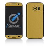 Samsung Galaxy S7 Skins - Brushed Metal - iCarbons - 3
