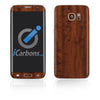 Samsung Galaxy S7 Edge Skins - Wood Grain - iCarbons - 2