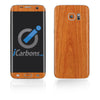 Samsung Galaxy S7 Edge Skins - Wood Grain - iCarbons - 3
