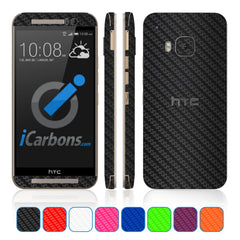 HTC ONE M9 Skins - Carbon Fiber
