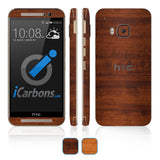 HTC ONE M9 Skins - Wood Grain - iCarbons - 1