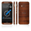 HTC ONE M9 Skins - Wood Grain - iCarbons - 2