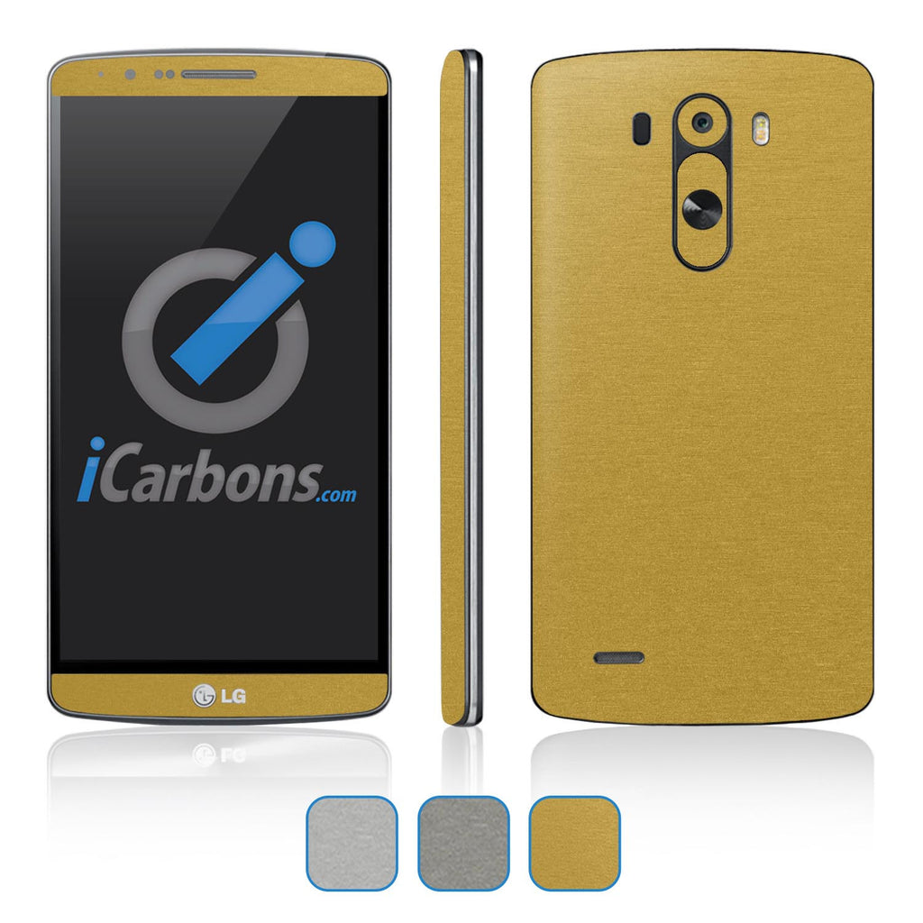 LG G3 Skins - Brushed Metals - iCarbons - 1