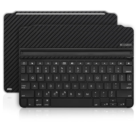 iPad Air 2 Logitech Ultrathin Keyboard Skin - Black Carbon Fiber - iCarbons