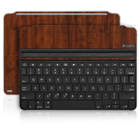 iPad Air 2 Logitech Ultrathin Keyboard Skin - Dark Wood - iCarbons