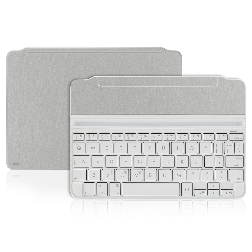 Logitech Ultrathin Keyboard Cover Mini Skin - Brushed Aluminum - iCarbons - 1