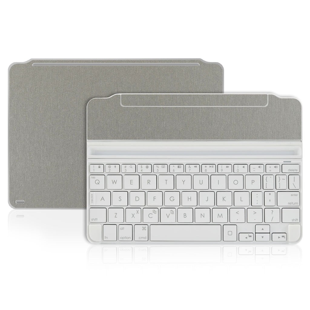 Logitech Ultrathin Keyboard Cover Mini Skin - Brushed Titanium - iCarbons - 1