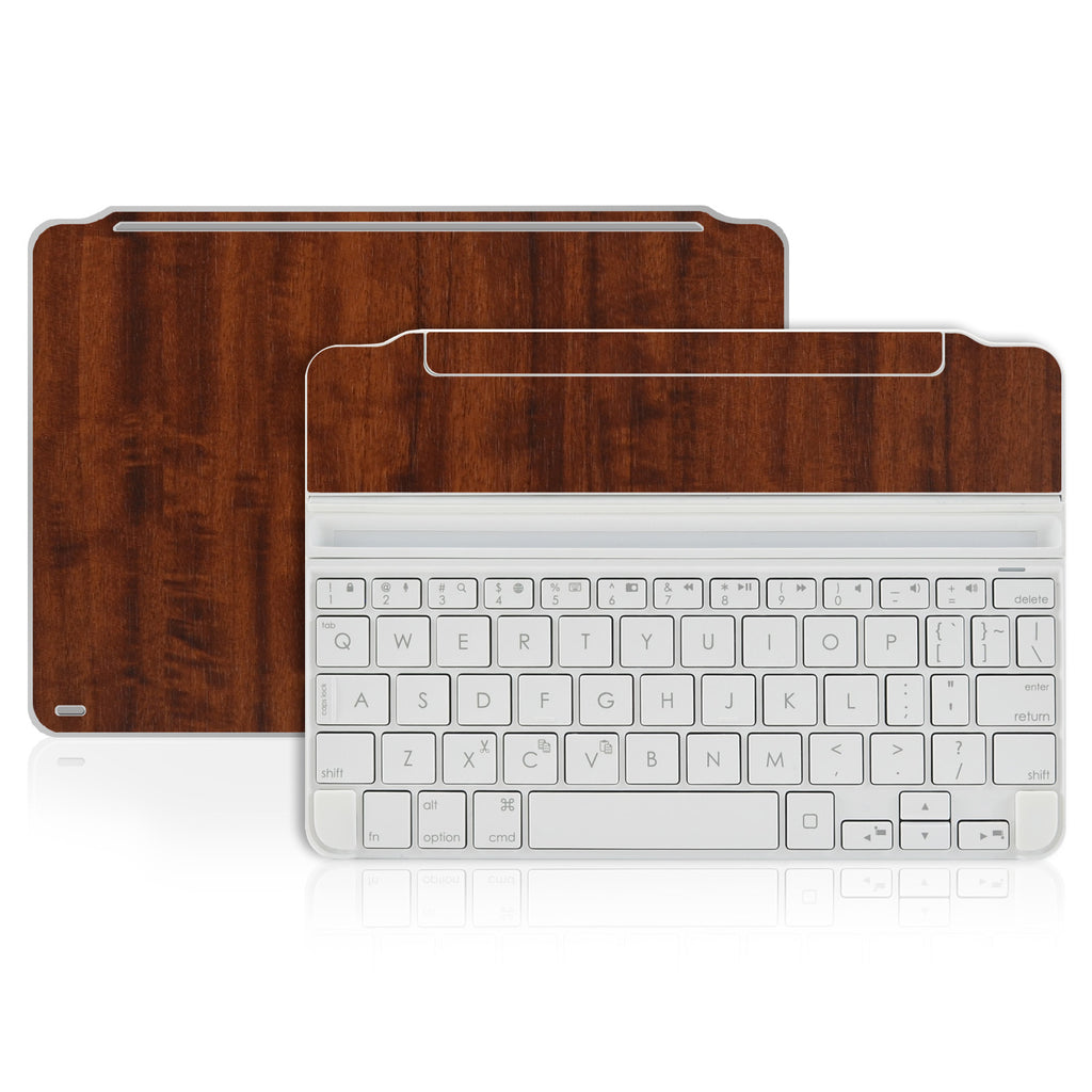 Logitech Ultrathin Keyboard Cover Mini Skin - Dark Wood - iCarbons - 1