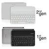 Logitech Ultrathin Keyboard Cover Mini Skin - White Carbon Fiber - iCarbons - 3