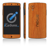 Nexus 5 Skins - Wood Grain - iCarbons - 3
