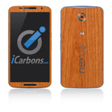 Nexus 6 Skins - Wood Grain - iCarbons - 2
