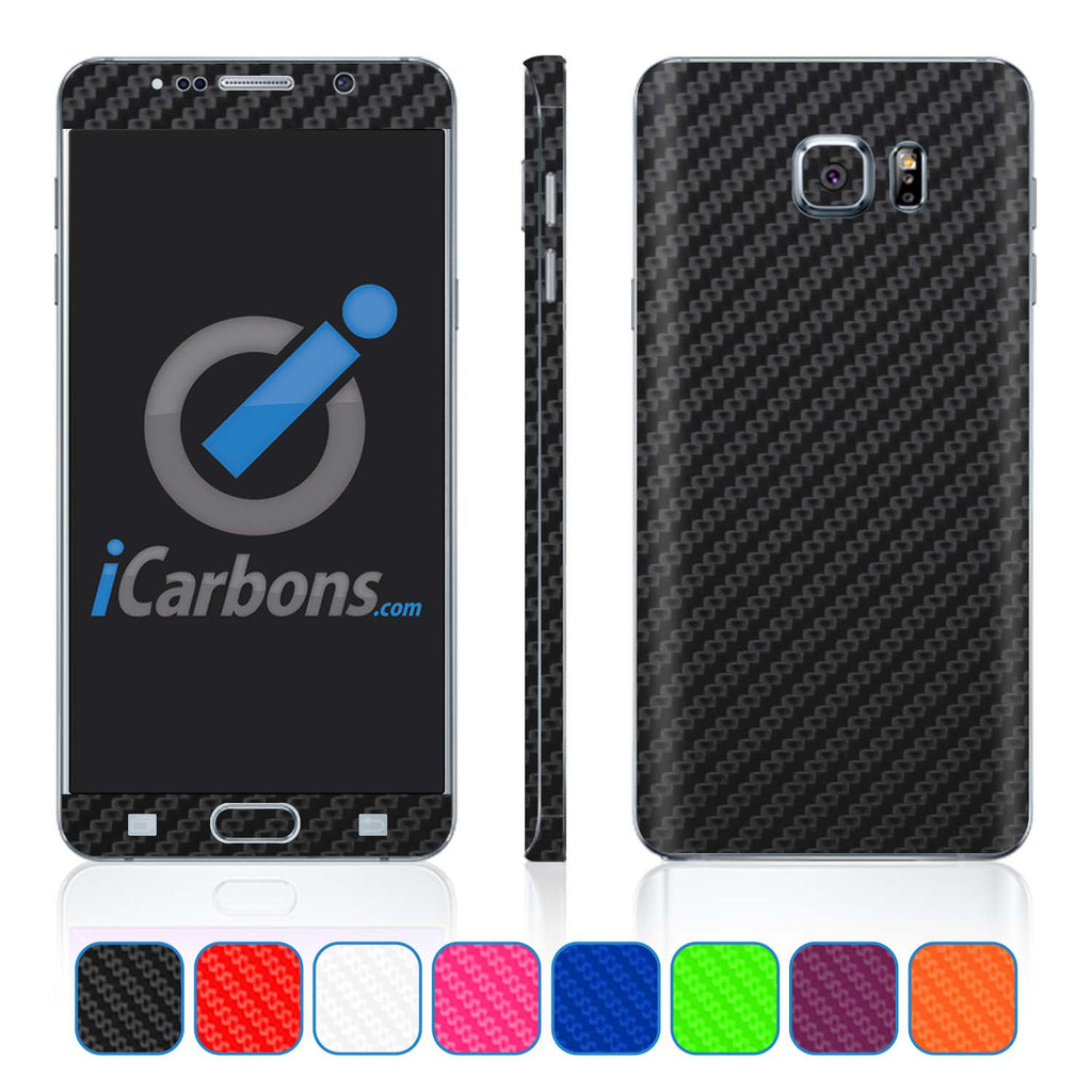 Samsung Galaxy Note 5 Skins - Carbon Fiber - iCarbons - 1