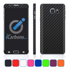 Samsung Galaxy Note 5 Skins - Carbon Fiber