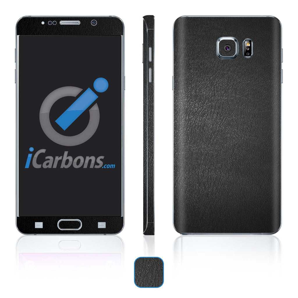 Samsung Galaxy Note 5 Skins - Leather - iCarbons - 1