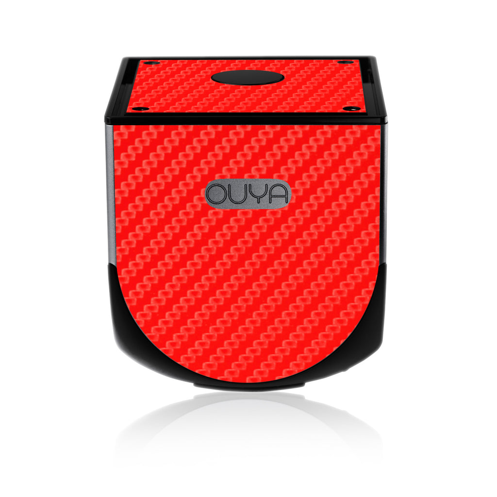 OUYA - Red Carbon Fiber - iCarbons - 1