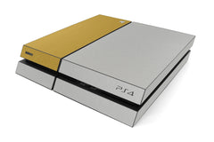 Playstation 4 Two/Tone - Brushed Aluminum/Gold