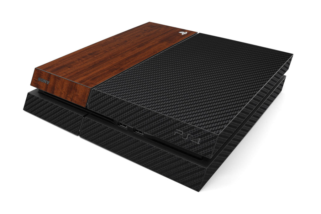 Playstation 4 Two/Tone - Black/Dark Wood - iCarbons