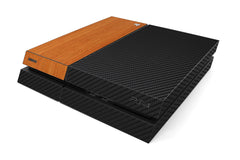 Playstation 4 Two/Tone - Black/Light Wood